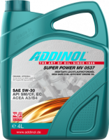 Моторное масло Addinol Super Power MV 0537 5W-30 4л
