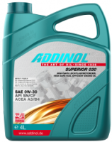 Моторное масло Addinol Superior 030 0W-30 4л